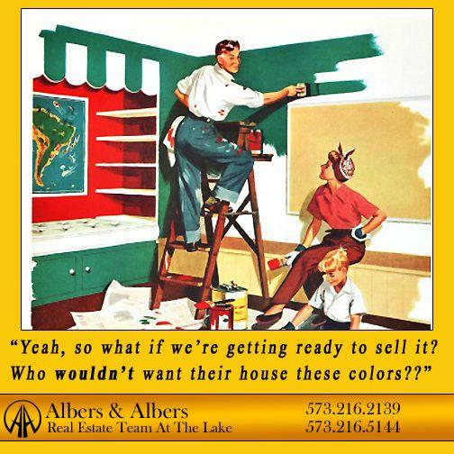Yikes! #lakeoftheozarks #albersandalbers #realestate Real Estate Humor