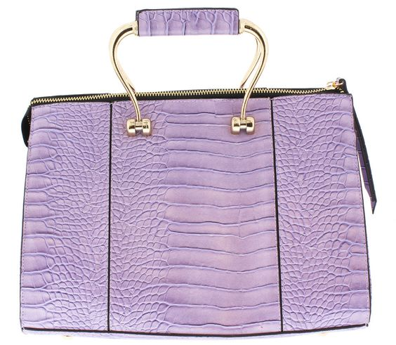 CYRENE LAVENDER WOMEN'S HANDBAG ONLY $19.88
