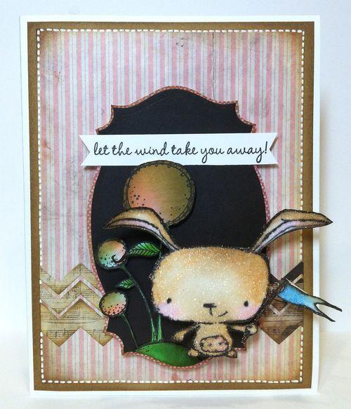 Kathy Racoosin - Poppy Card