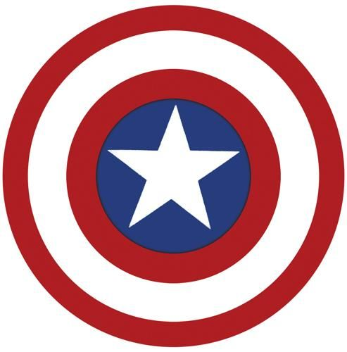 """Marvel Captain America Classic Sticker Decal  6/"""" Licensed New"""