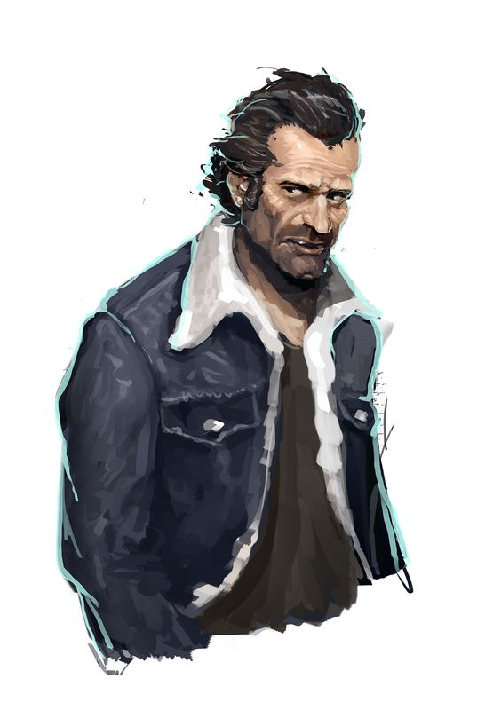 1 hour Character sketches on Behance