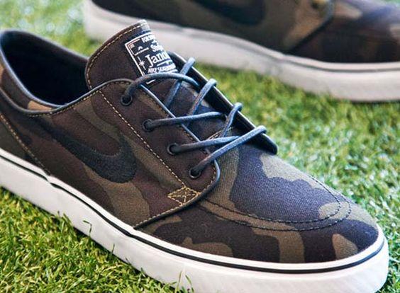 Nike SB Stefan Janoski - Camo