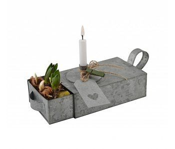 IB LAURSEN Schubladen-Kerzenständer