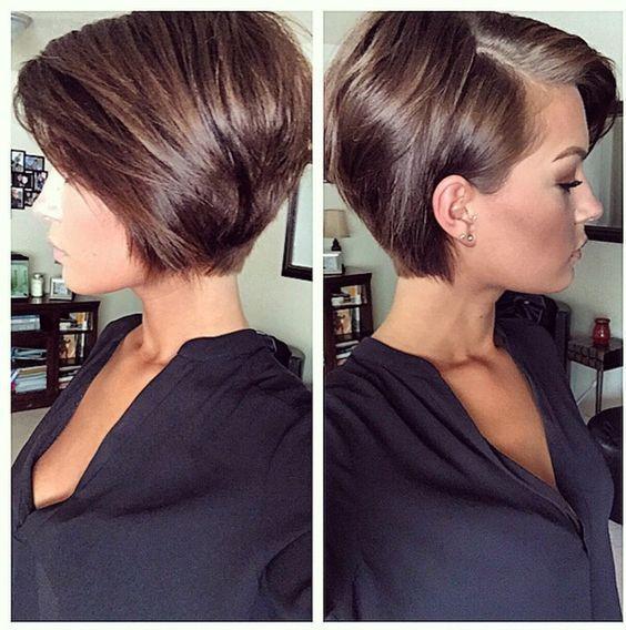 Sleek Short Pixie Hairstyle Coupe De Cheveux Jolie Coiffure Coupe De Cheveux Courte