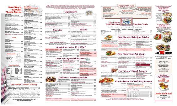 Sea Shore Restaurant City Island New York Menu Restaurant Seafood Restaurant Best Seafood Restaurant