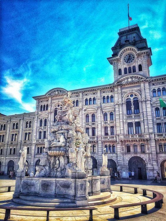 Piazza Unità d'Italia, Trieste, Italy Photography by Derek Alvarez | Saatchi Art
