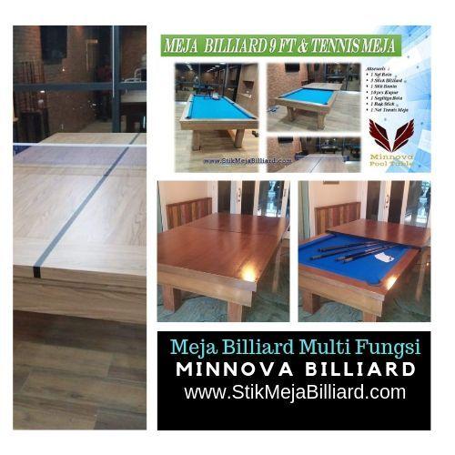 Pool Table Minnova 3 In 1 Billiard Table Tennis Meeting Tennis Meja Ruangan Cocok