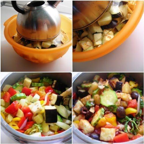 Pressure Cooked Sicilian Summer Vegetable Medley – Caponatina | hip pressure cooking