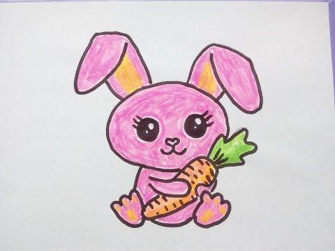 Kawaii Bilder Tutorial Ein Kaninchen Hase Malen Zeichnen Lernen Fur Anfanger Youtube Hase Zeichnen Zeichnen Lernen Fur Anfanger Zeichnen Lernen