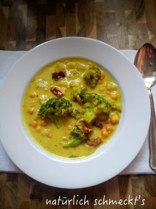 Brokkoli-Kichererbsen-Curry