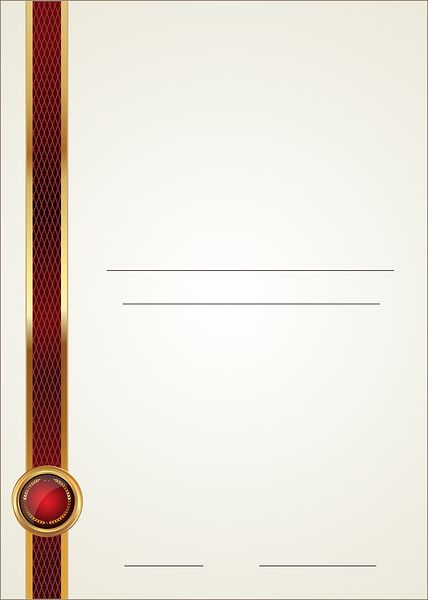 Empty Template Blank PNG Image Certificate Templates – Certificate Template Blank