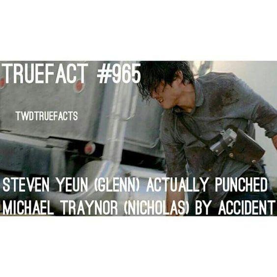 The Walking Dead True Facts F5973aae263cc794b4df494b9d53217f
