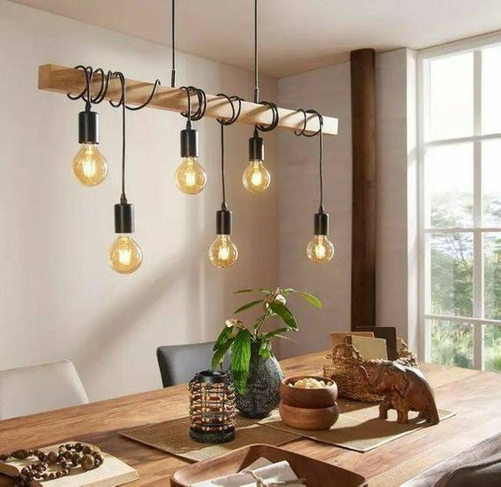 Rustic home decor can be customized wood beamed chandelier models. For those who do not give up style in every area of ​​the house. We put together the most modern and stylish chandeliers. Enjoy modern or rustic lighting by choosing the best pendant lighting for your home. After the tests, it is a