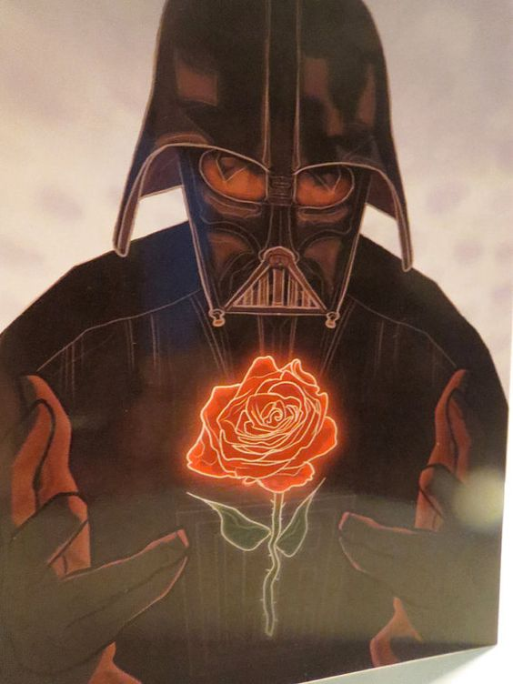 Darth Vader Valentineu0027s Day Star Wars Card By CastleMcQuade | Valentines  E Cards | Pinterest