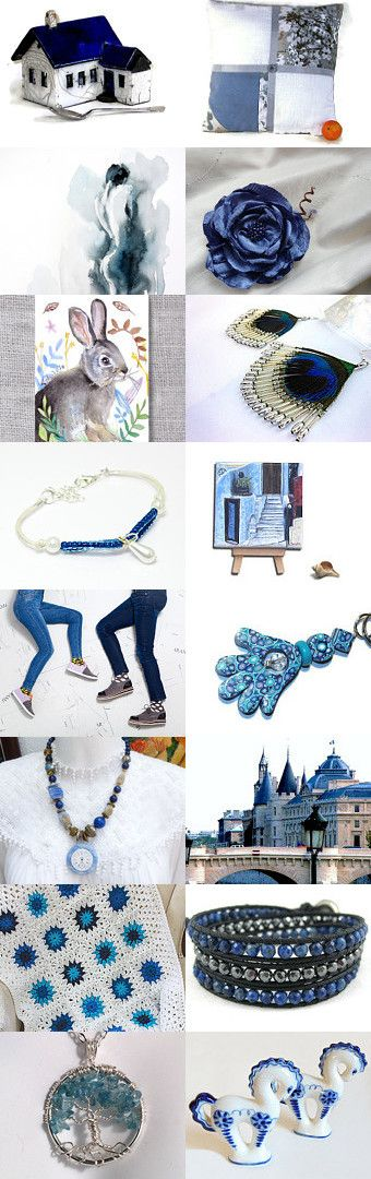 Smokey Blue by Peggy on Etsy--Pinned with TreasuryPin.com