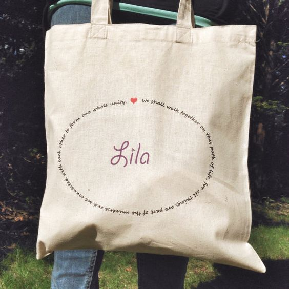 Montessori Quote Tote Custom by MOMtessoriLife on Etsy - great teacher gift idea!