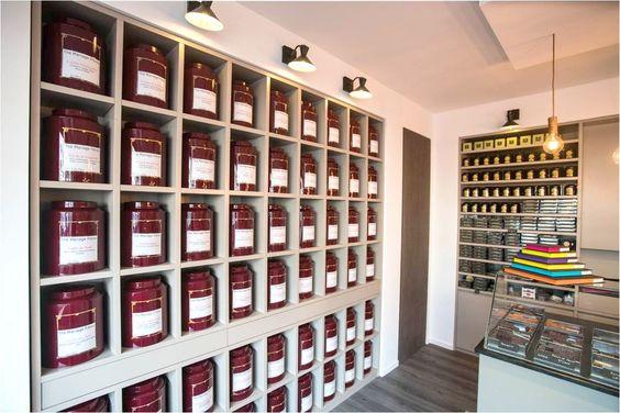 Chocolaterie Scarabée d'Or Enghien Décoratrice Alexandra Druesne