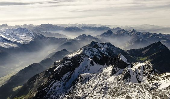 Photo of the Day: Snowy, Foggy Mountain | Smithsonian