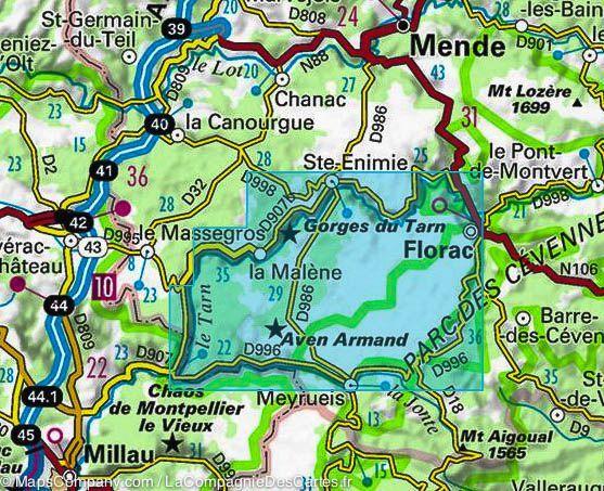 Gorges Du Tarn Florac Sur Le Vibron Lozere Near Nimes France La Capitale Du Parc National Des Cevennes Lozere Parc National Des Cevennes Gorge Du Tarn