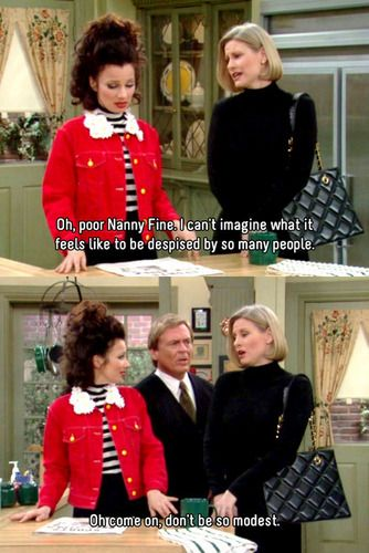 The Nanny- quote - Another burn from Niles: