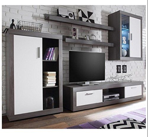 Bestchoiceforyou Essen Living Room Set 2 In Smoke Silver White Fronts With Led Living Room Sets Furniture Living Room Sets Contemporary Living Room Furniture