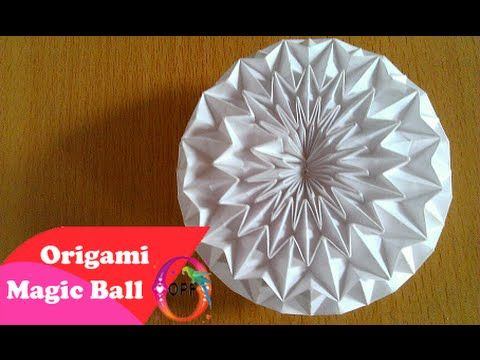 Origami ✿ Revealed Flower ✿ ( PopUp Star) - YouTube | 360x480