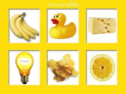 Fichas Libro Para Trabajar El Color Amarillo Poesias Y Canciones Objetos De Color Amarillo Imagenes Color Amarillo Dibujos De Colores