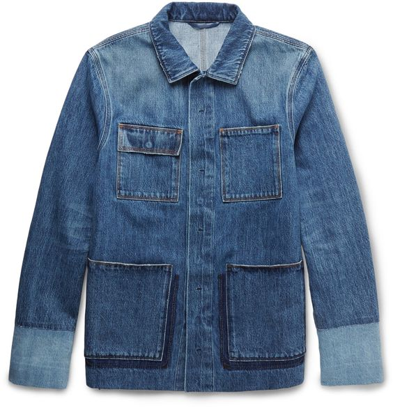 Valentino - Patchwork Denim Overshirt
