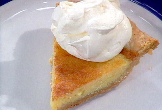 Buttermilk Pie from FoodNetwork.com
