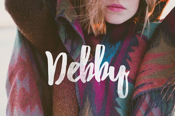 Debby (Free Font) on Typography Served