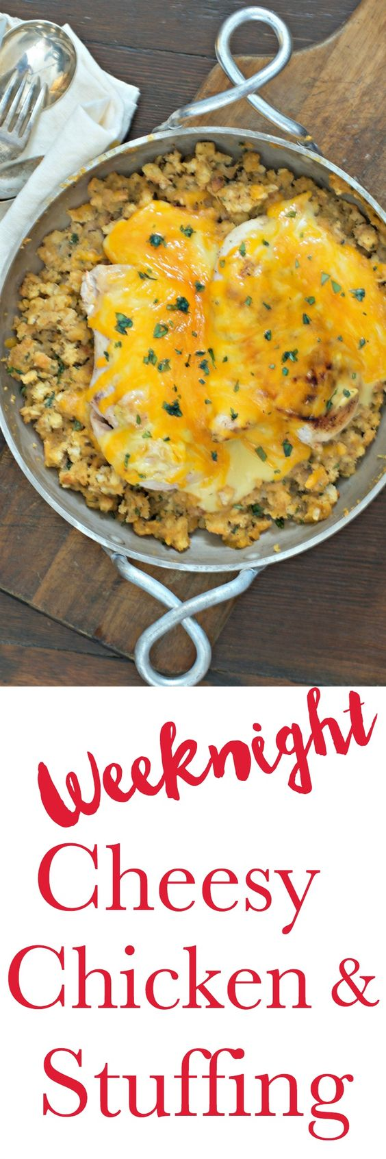 This simple nearly one pot, one dish recipe is ready for a weeknight meal in minutes. Delicious and comforting. Perfect for a cold evening meal. Just add a veggie.