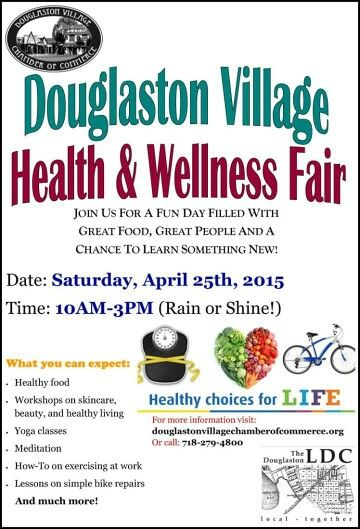 Please join us for a fun event with the focus of healthy living! Bring a friend and make it a wellness day out:)