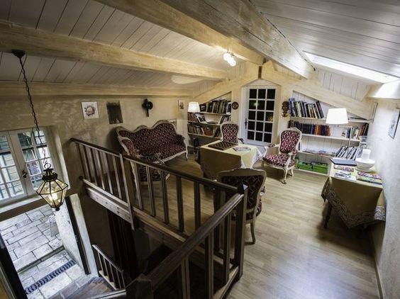 mezzanine and salons on pinterest. Black Bedroom Furniture Sets. Home Design Ideas