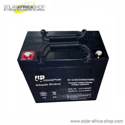 Solar Battery Deep Cycle Agm 12v 50ah Universal Power