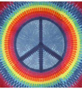 Wall Hanging Peace Sign Tapestry