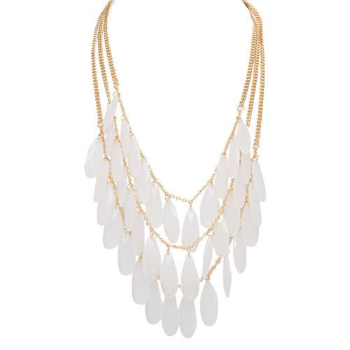 All the Rage Statement Necklace