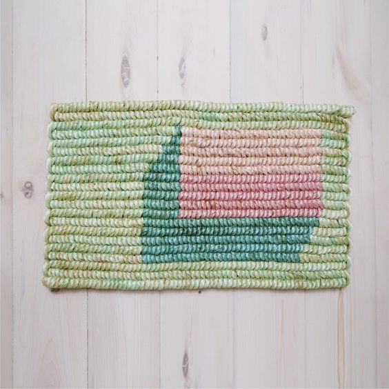12 Colorful Doormats for Next-Level Spring Decor via Brit + Co