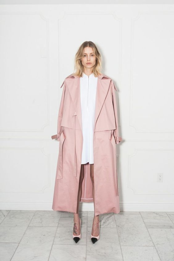 This trench. @thecoveteur: