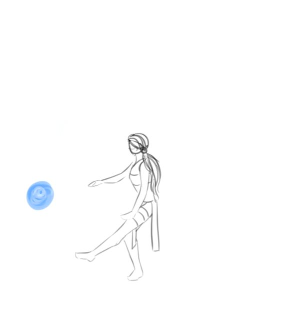"""so these sketches of ballet waterbending frickin EXPLODED and a lot of people seemed to want it animated SO. i give you extremely sketchy animations of katara, prima ballerina"" Please click through for the original artist!"