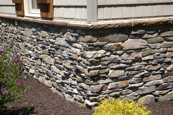 stone veneer foundation skirt house exterior pinterest foundation skirts and why not