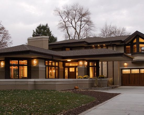 Best Prairie Style The 3 Dimensional Facade It S Not A Flat 400 x 300