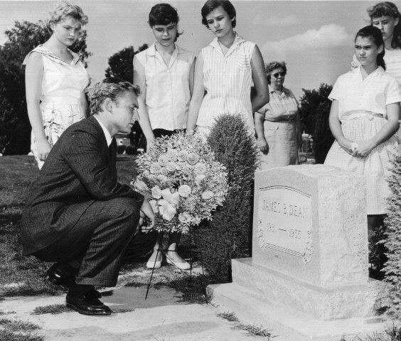 Image result for Nick Adams at james dean grave