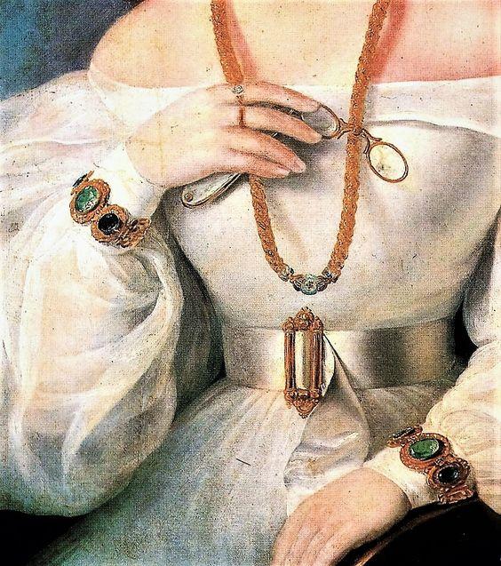 Portrait of A Woman by Miklos Barabas,1831