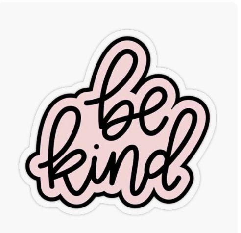 Be Kind Sticker By Thatdesignguy In 2020 Sticker Design Vinyl Sticker Cute Stickers