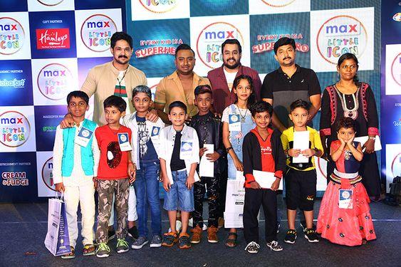 Actor Nakul judges Max Little Icon 2019 Chennai Finale at Forum Vijaya Mall