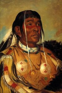 The Six Chief of The Plains Ojibwa American Indian 1832 by George Catlin Repro | eBay