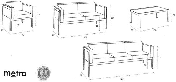 Sofas google and search on pinterest for Sofa exterior a medida