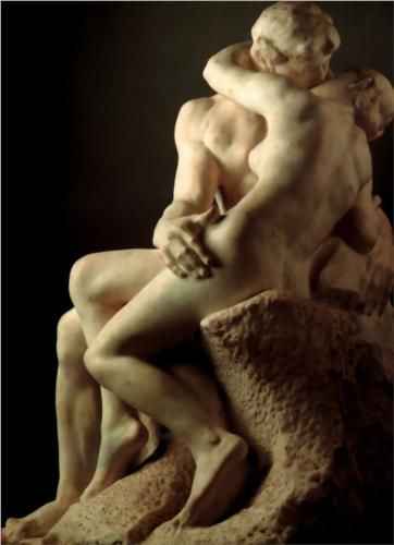 The Kiss (1901-1904) ~ Auguste Rodin