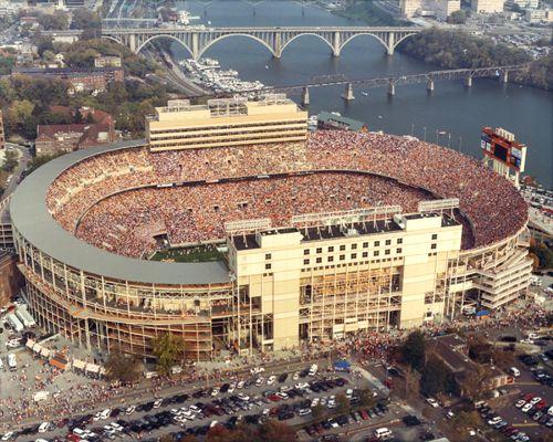 Neyland Stadium aka Rocky Top, Knoxville TN