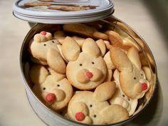 Receitas Supreme – Aprenda a fazer biscoitos de páscoa – formato de coelhinho:
